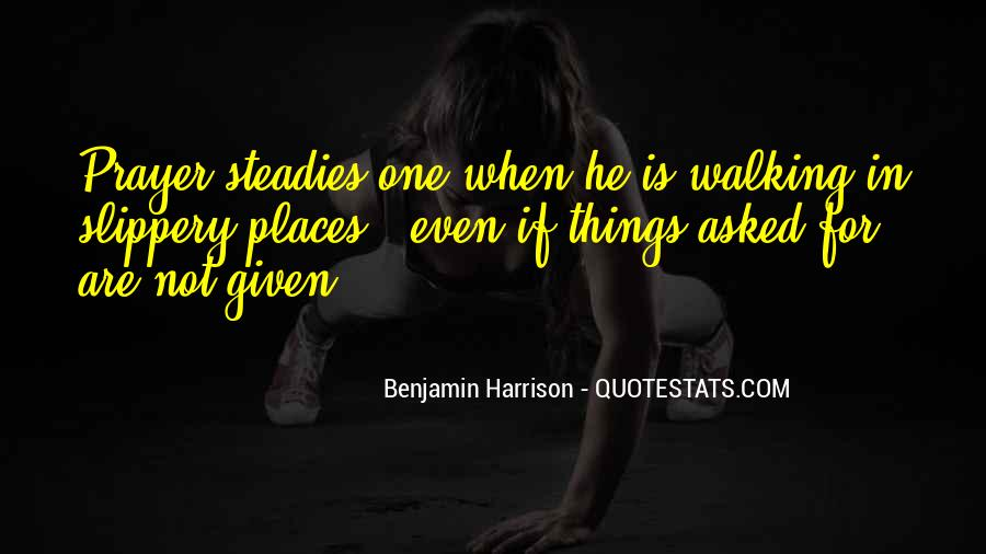 Benjamin Harrison Quotes #137362