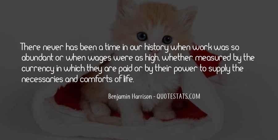 Benjamin Harrison Quotes #210321