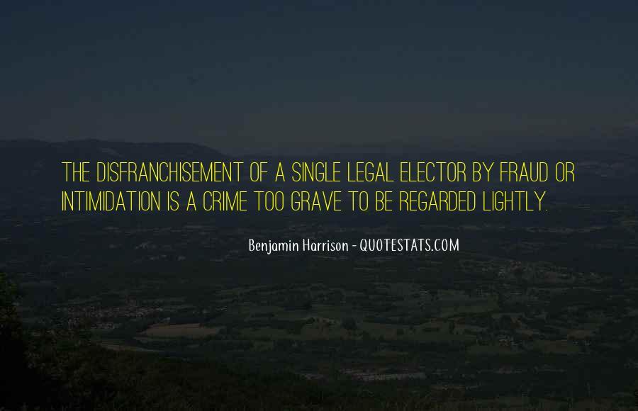 Benjamin Harrison Quotes #271326
