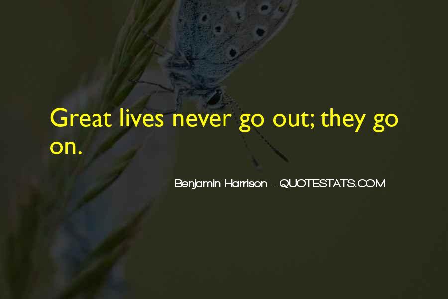 Benjamin Harrison Quotes #425252