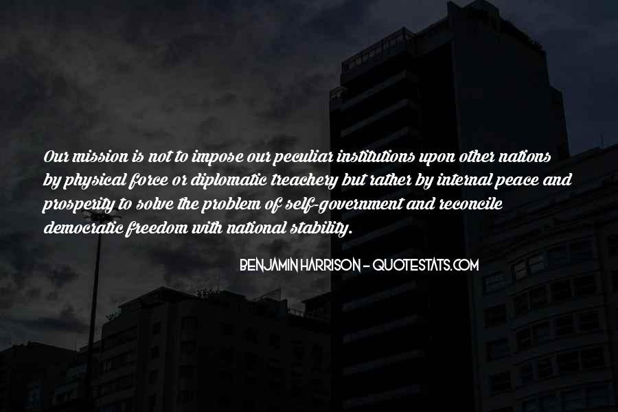 Benjamin Harrison Quotes #435097