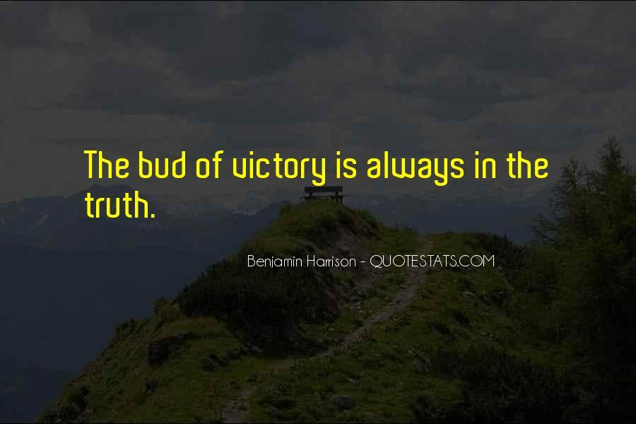 Benjamin Harrison Quotes #618136