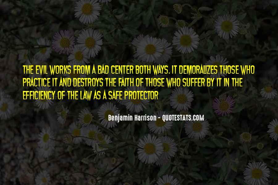 Benjamin Harrison Quotes #652226