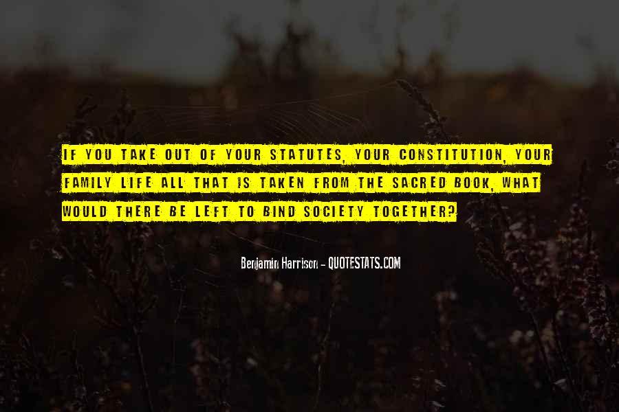Benjamin Harrison Quotes #960202