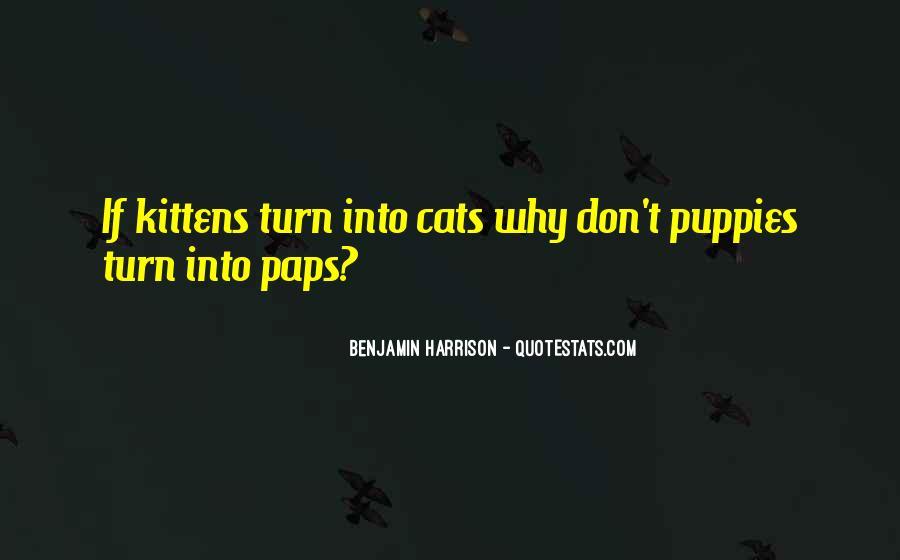 Benjamin Harrison Quotes #972954