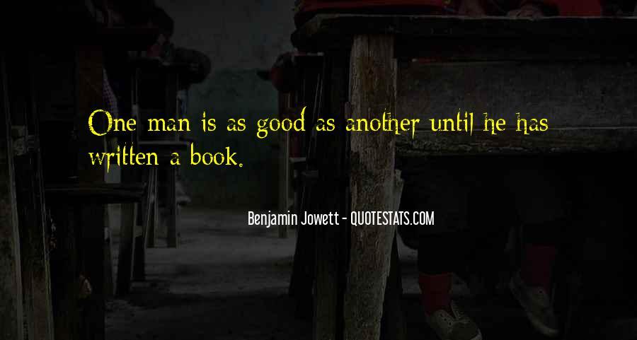 Benjamin Jowett Quotes #1594832