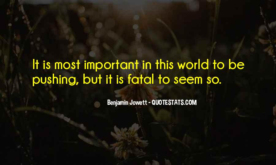 Benjamin Jowett Quotes #494972