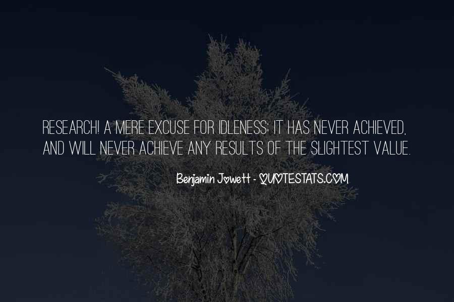 Benjamin Jowett Quotes #645701