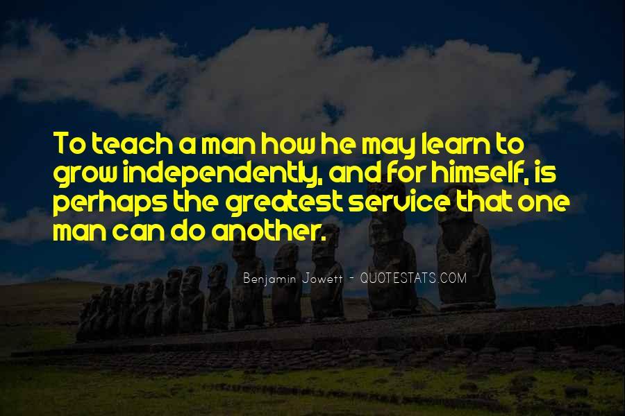 Benjamin Jowett Quotes #869750