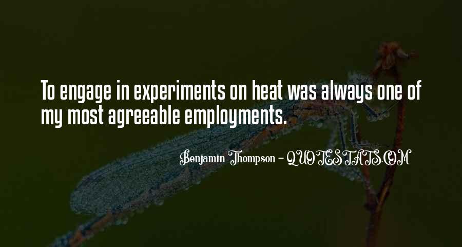 Benjamin Thompson Quotes #1551479