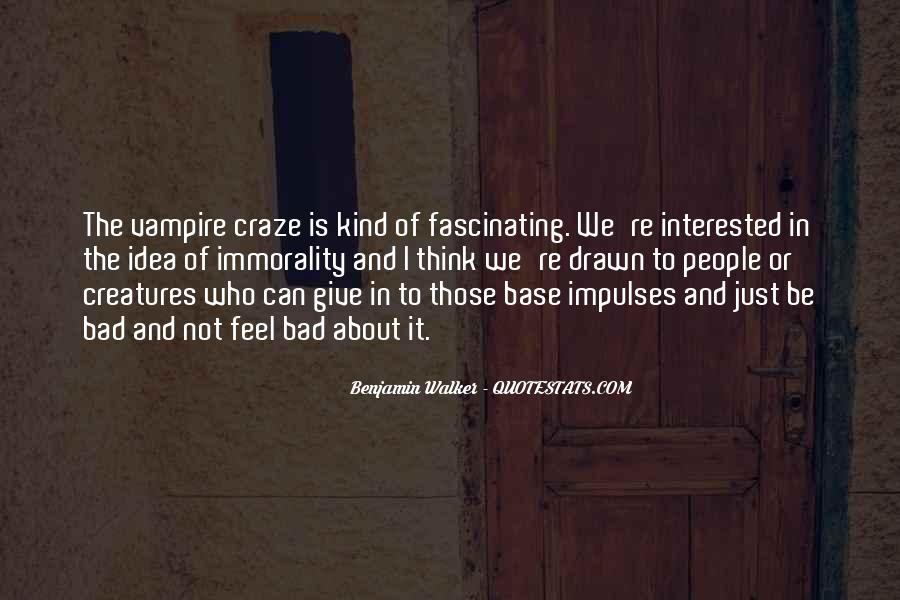 Benjamin Walker Quotes #1282672
