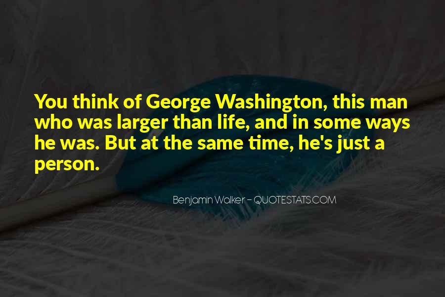 Benjamin Walker Quotes #1772219