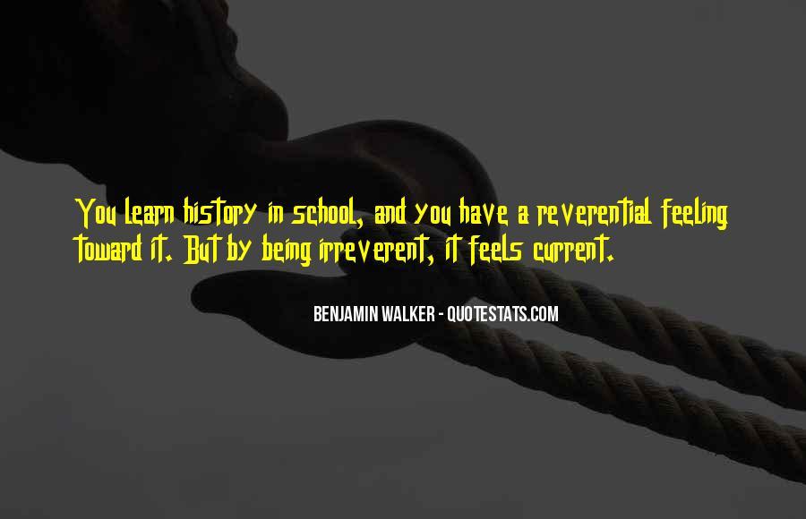Benjamin Walker Quotes #325747