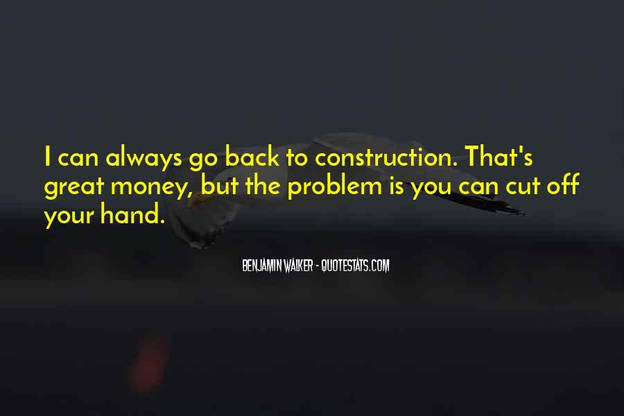Benjamin Walker Quotes #734077