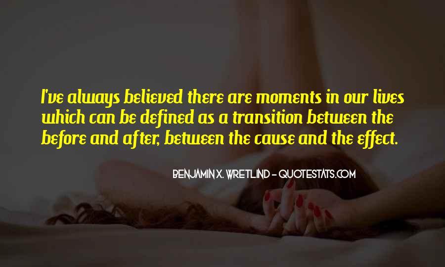 Benjamin X. Wretlind Quotes #1007598