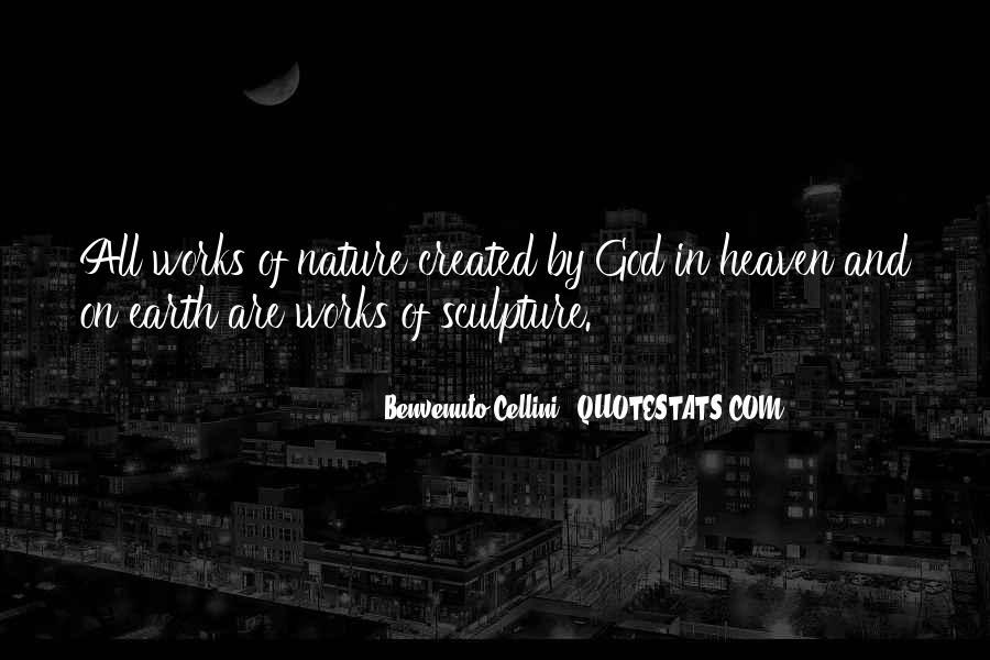 Benvenuto Cellini Quotes #1057606