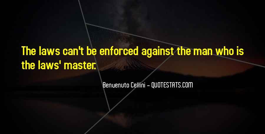 Benvenuto Cellini Quotes #42729