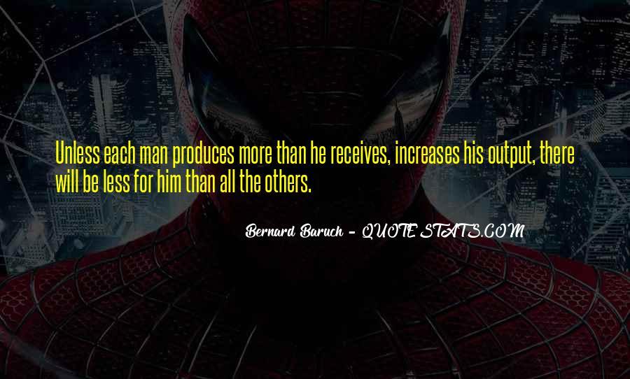Bernard Baruch Quotes #1044046