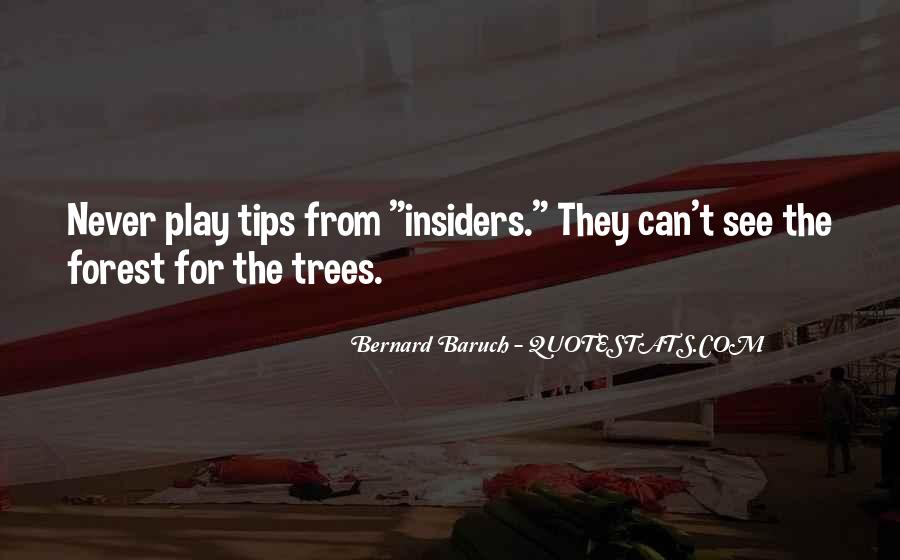 Bernard Baruch Quotes #1126929