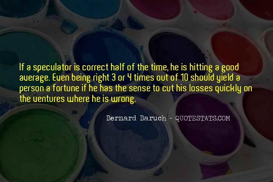 Bernard Baruch Quotes #1184784