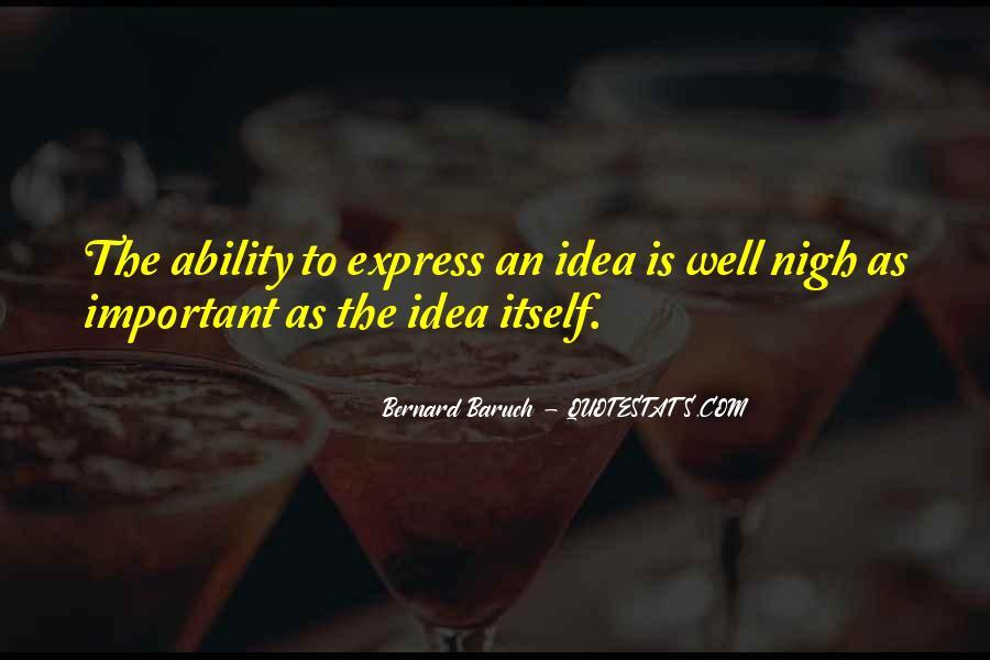 Bernard Baruch Quotes #1188072
