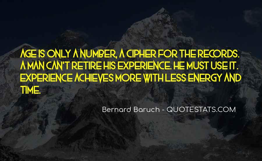 Bernard Baruch Quotes #1219956