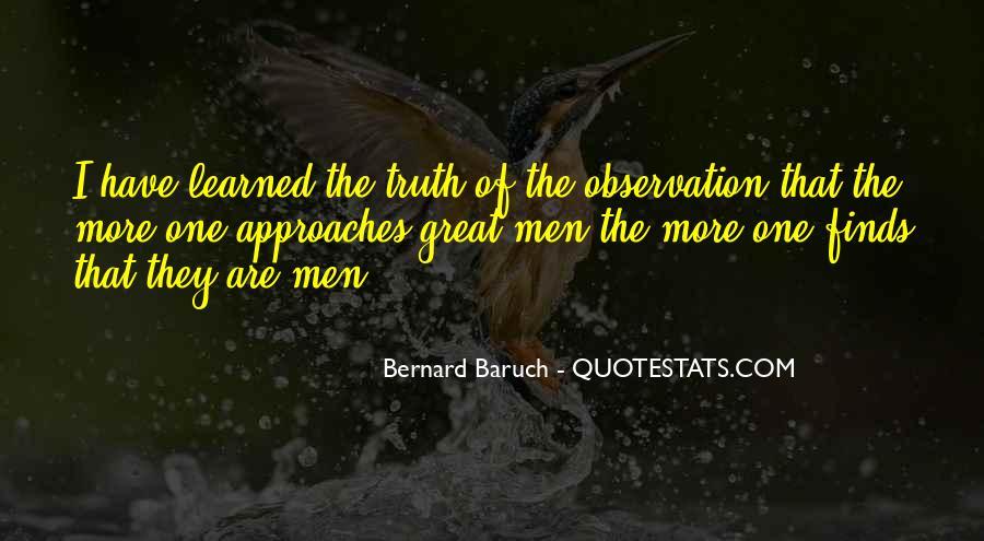 Bernard Baruch Quotes #1277402