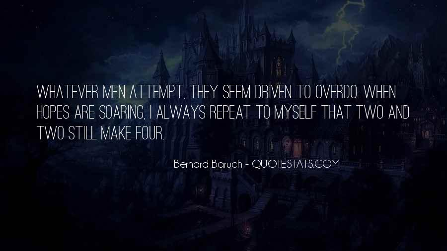 Bernard Baruch Quotes #1287657