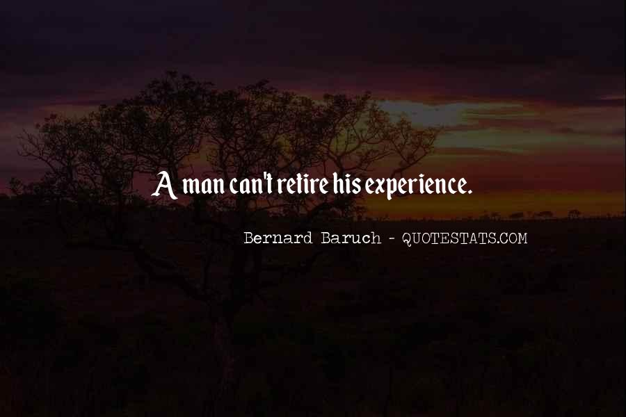 Bernard Baruch Quotes #1292163