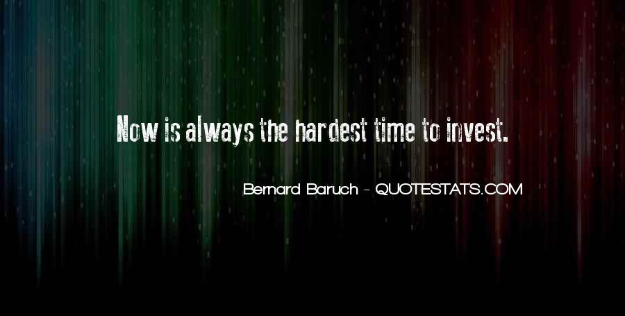 Bernard Baruch Quotes #132463