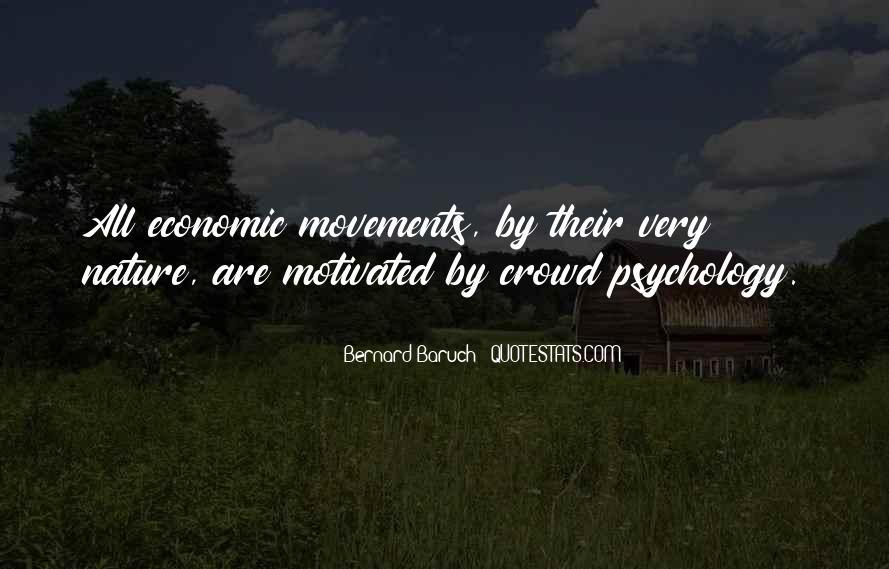Bernard Baruch Quotes #1377265
