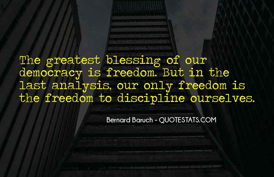 Bernard Baruch Quotes #1426648