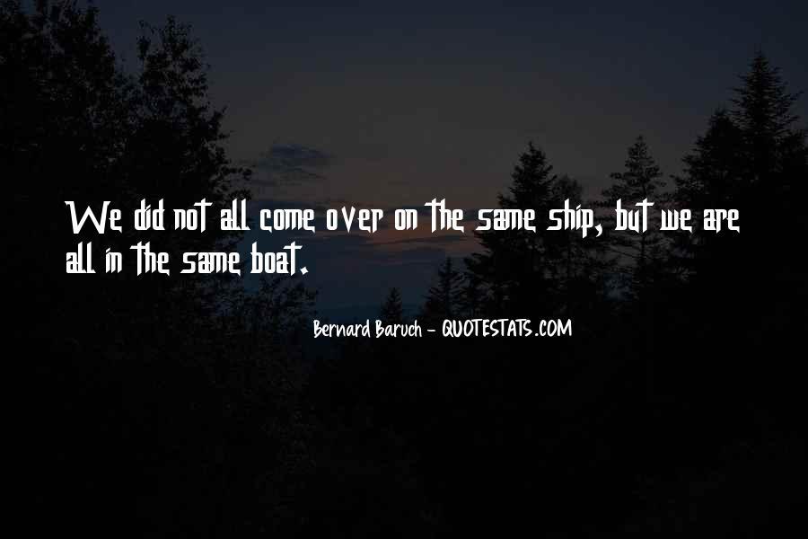 Bernard Baruch Quotes #1463775