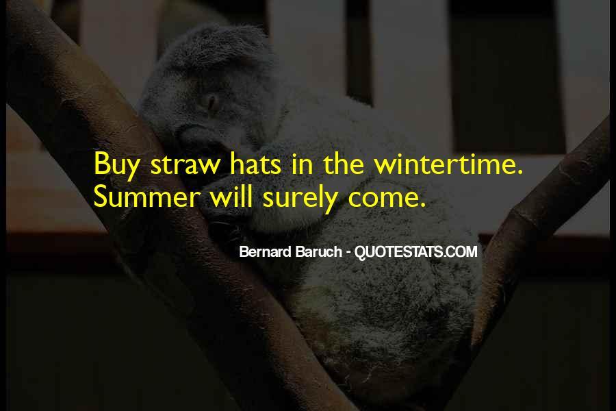 Bernard Baruch Quotes #1469994