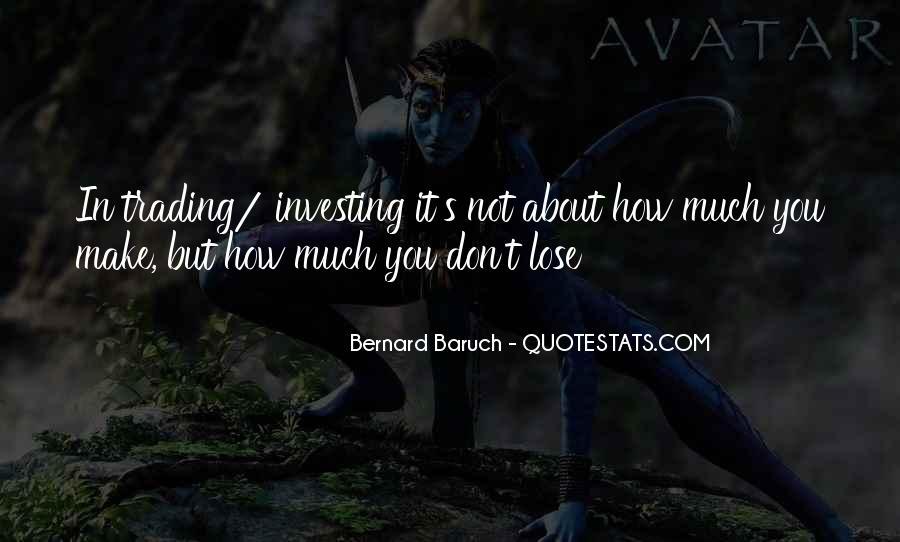 Bernard Baruch Quotes #1472507