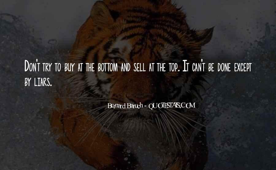 Bernard Baruch Quotes #1527539