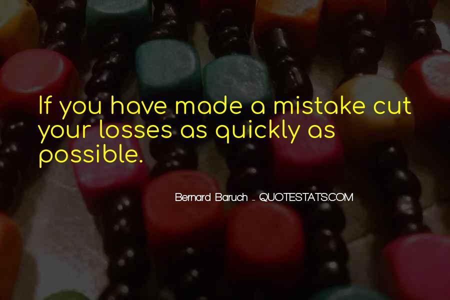 Bernard Baruch Quotes #1672106