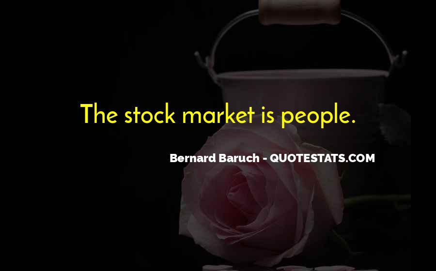 Bernard Baruch Quotes #1688360