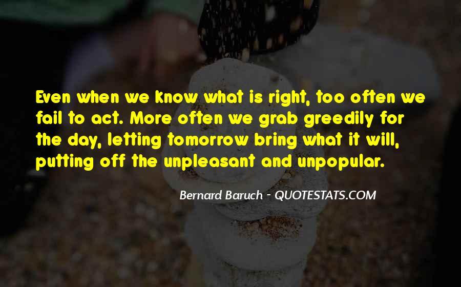Bernard Baruch Quotes #177768