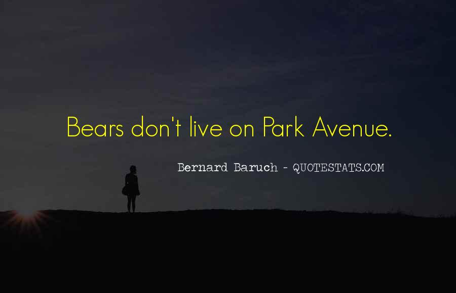 Bernard Baruch Quotes #1803290