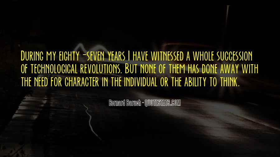 Bernard Baruch Quotes #1828032