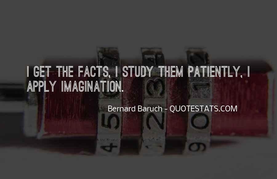 Bernard Baruch Quotes #1843931