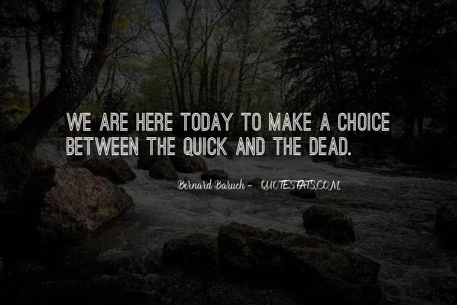 Bernard Baruch Quotes #238565