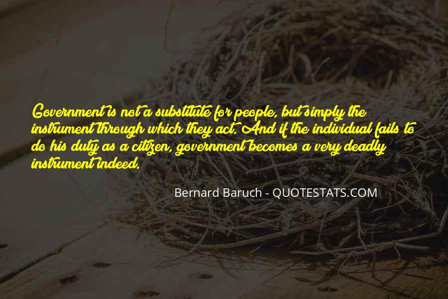 Bernard Baruch Quotes #323676