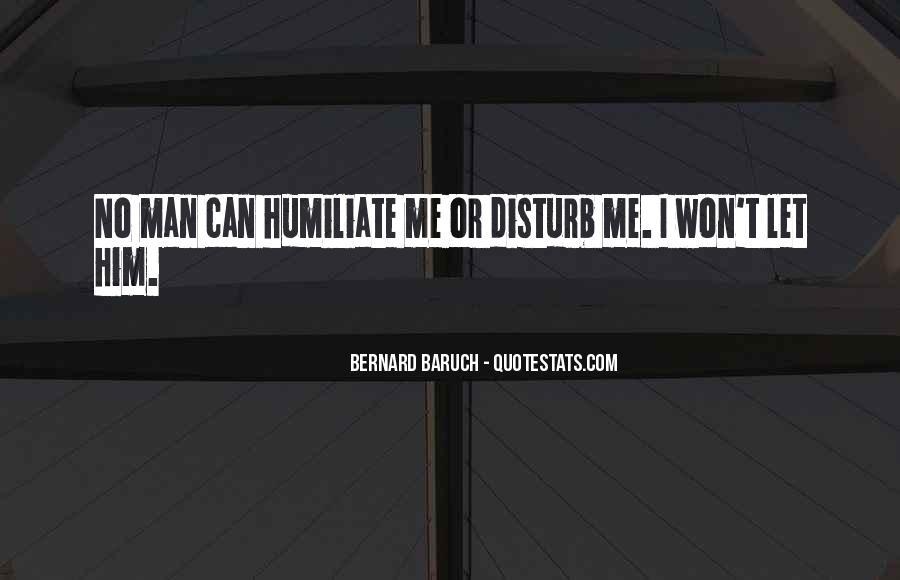 Bernard Baruch Quotes #485469