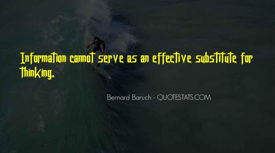 Bernard Baruch Quotes #51824