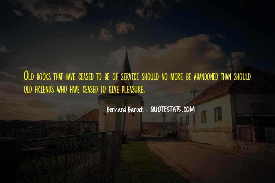 Bernard Baruch Quotes #668496