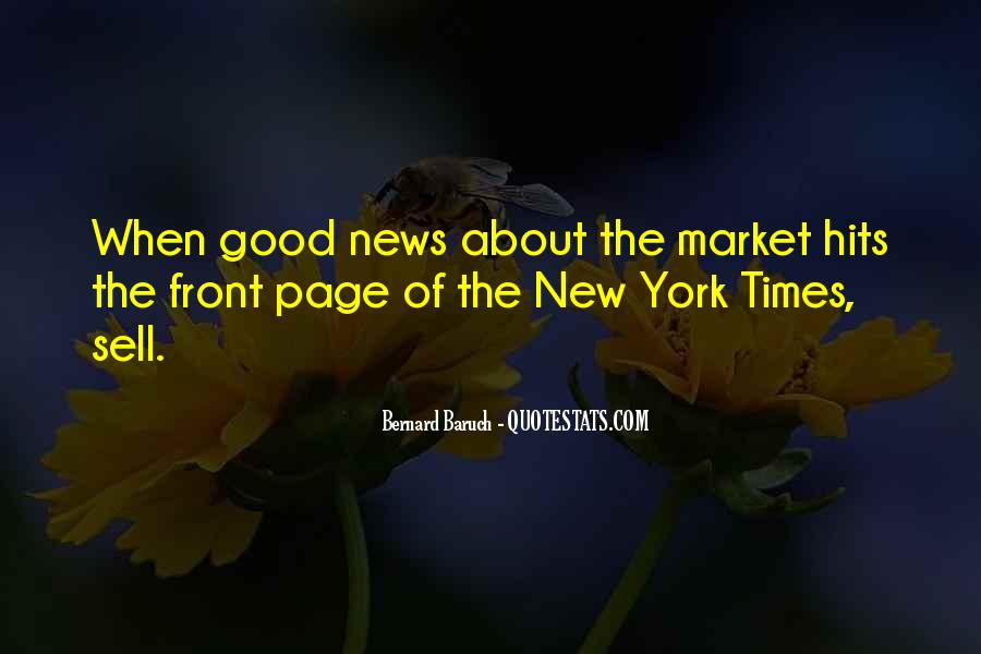 Bernard Baruch Quotes #678484