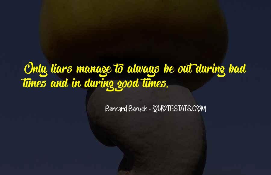 Bernard Baruch Quotes #712926