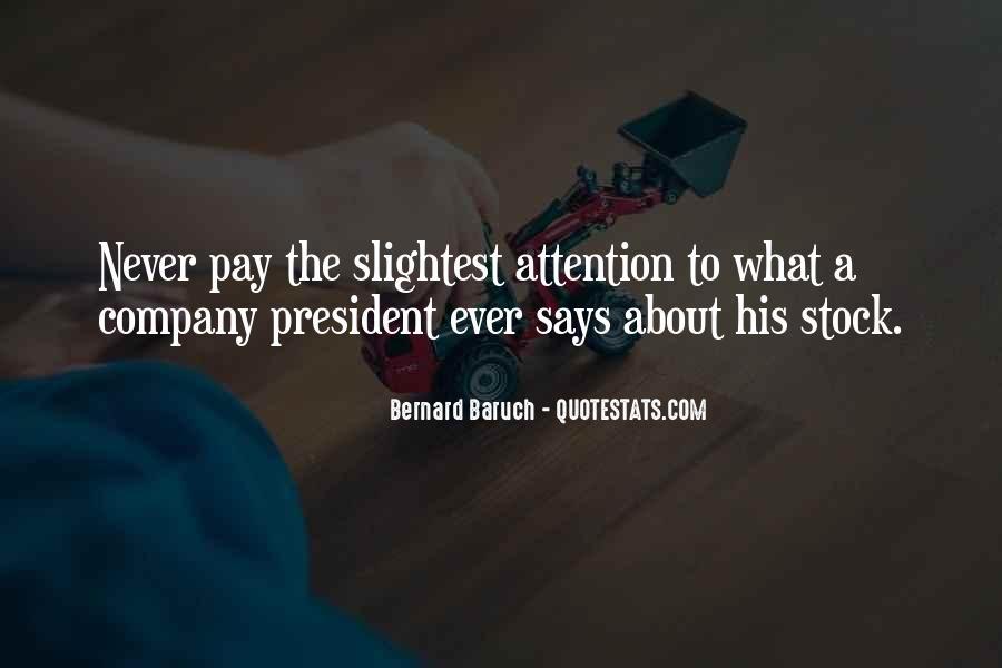 Bernard Baruch Quotes #73451